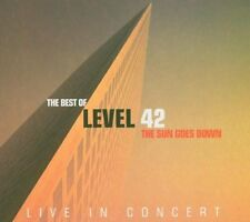CD NEUF scellé - LEVEL 42 - THE SUN GOES DOWN / Live in concert -C23