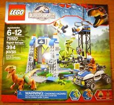 Lego JURASSIC WORLD WALMART EXCLUSIVE RAPTOR ESCAPE 394 PCS SET 75920 NEW