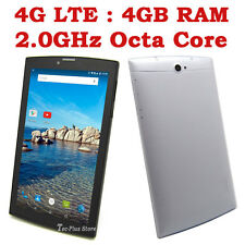 "NEUF TECA 706W 4G LTE ANDROID 5.1 OCTA CORE 4GB-RAM 64GB 7"" GPS TABLET PHONE a"