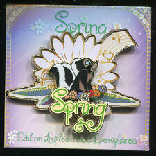 DLP DLRP Paris - Disney Pin Trading Day Spring 2014 - LE 1000 Flower 100611