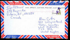 Canada 2005 Commercial Airmail Cover To UK #C38308
