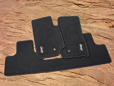 Wrangler JK Carpet Floor Mats 82209495AC OEM Mopar Dark Slate front & rear 07-12