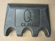 New Q Claw Cue Pool Cue Holder Black QClaw For 3 Cues