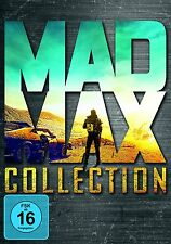 MAD MAX 1-4 DVD COLLECTION 1+ 2+ 3 + FURY ROAD MEL GIBSON  DEUTSCH UNCUT