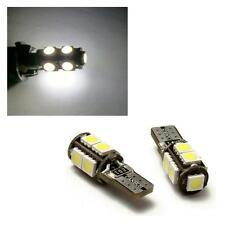 1 x Pair 9 SMD LED Sidelight Bulbs 6000K White W5W 501 - VW Volkswagen Golf Mk4
