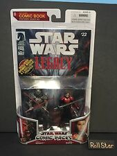 Star Wars Legacy Collection Comic Packs Darth Krayt And Sigel Dare MISB