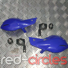 BLUE ATV QUAD BIKE HAND GUARD PROTECTOR HANDGUARDS 22mm 50cc 90cc 110cc 125cc
