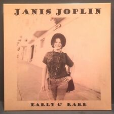 Janis Joplin - Early & Rare Import LP - SEALED NEW! Live in '62!!