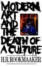 Modern Art and the Death of a Culture, H. R. Rookmaaker, Good Book