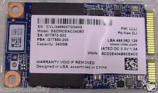 Intel SSDMCEAC240B3 SSD 525 Series 240GB mSATA 6Gb/s, 25nm, MLC New