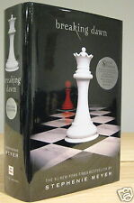 STEPHENIE MEYER BREAKING DAWN SPECIAL EDITION SIGNED 1st PRINT NEW & UNREAD +COA