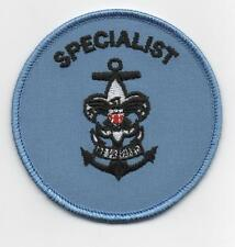 """Sea Scout Specialist Position, 3"""" Round, """"Since 1910"""" Back (New!)"""