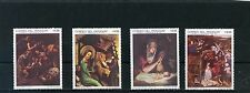 PARAGUAY1969 Sc#1210-1213  CHRISTMAS PAINTINGS  SET OF 4 STAMPS MNH