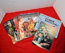 The Decorative Painter Magazine Lot of 6-1996 Tole Painting Magazines + 2 Others