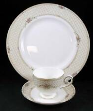 Wedgwood TURNBERRY Dinner Plate + Cup & Saucer SHOWROOM INVENTORY MINT