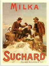 Metal Sign 780 Milka Suchard Milk Chocolate8 190S A3 16x12 Aluminium