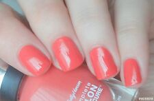 NEW! Sally Hansen Complete Salon Manicure nail polish POOF! BE-GONIA!