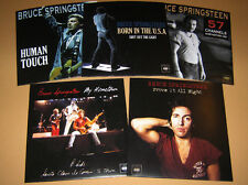 Lot of 5 x BRUCE SPRINGSTEEN - Rare 45 rpm PICTURE FAN SLEEVES 7""