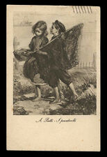 cartolina d'epoca-post card-CHILD ENFANT KIND BAMBINI 49