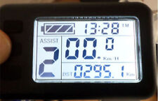 New Electric bike KT1- LCD screen 36v /48v with standard or normal connector