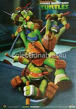 POSTER  22x33 tmnt teenage mutant ninja turtles nickelodeon