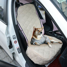Pet Car Seat Cover Single Pad Dog Cat Protector Mat Auto SUV Front Rear Bla