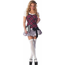 "NEW ""PLAYBOY COLLEGIATE CUTIE"" SEXY ADULT HALLOWEEN COSTUME S/M FREE SHIPPING"