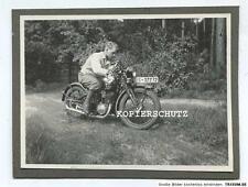 Original Foto Oldtimer Motorrad um 1925