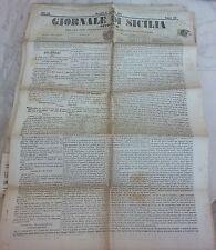 Giornale di Sicilia officiale anno XII n° 258 (11 novembre 1874 bollo Palermo 1c