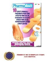 **10** CORN PLASTERS  - CORN AND WART TREATMENT - FREE SHIPPING