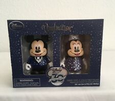 "VINYLMATION MICKEY &MINNIE MOUSE 3"" FIGURE SET - DISNEY STORE 30TH ANNIVERSARY!"