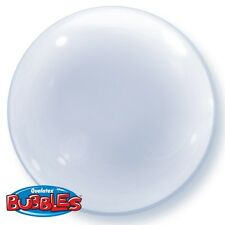 "Qualatex 20"" TRASPARENTE DECO Bubble Palloncino"