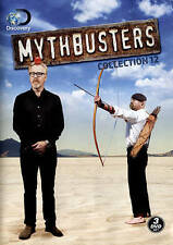 Mythbusters: Collection 12 (DVD, 2015, 3-Disc Set)