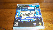 TV SuperStars  (Sony Playstation 3, 2010) BRAND NEW SEALED PS3 VIDEO GAME