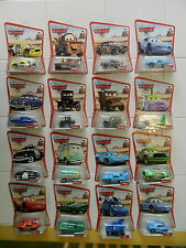 COMPLETE 2005 1ST DISNEY PIXAR CARS MOVIE LOT/DESERT CARD/FILMORE ERROR/LIZZIE!