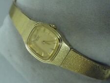 "Seiko ladies watch classy 7"" band 17mm wide new battery Very nice watch A+ Chain"