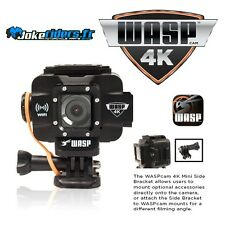WASPcam 9907 4K Action Cam - WIFI - video 12Mpixel - photo 20Mpixel - Angle 170°