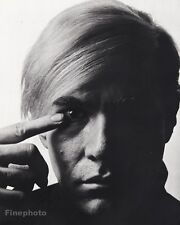 1968 Vintage 16x20 ANDY WARHOL Pop Art Gay Artist Factory Photo PHILIPPE HALSMAN