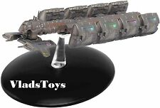 Eaglemoss Star Trek Y-class Freighter Earth Cargo Service ECS Fortunate 49 w/Mag