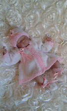 Reborn Baby Clothing / matinee coat / outfit / Knitted  / Cardigan / Romper