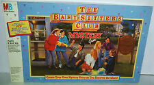 THE BABYSITTERS CLUB MYSTERY GAME BY MB GAMES BOARD GAME RARE 1992 SEALED INSIDE