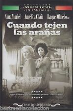 Cuando Tejen Las Aranas 1977 DVD NEW Alma Muriel y Angelica Chain SEALED