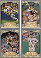 2012 Topps Gypsy Queen Lot of 4 cards #42 #124 #134 #152