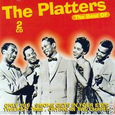 CD audio.../...THE PLATTERS.../...THE BEST OFF.../...2 CD...