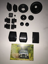 ESCORT MK2 FULL GROMMET KIT INC PEDDLE RUBBERS  rs2000 MEXICO RALLY RS1800 1600
