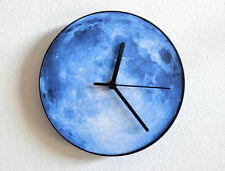 Blue Moon - Wall Clock