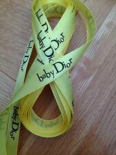 """Baby D 5/8"""" X 6 metros de cinta de raso de Limón"""
