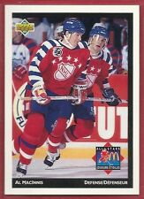 1992-93 Upper Deck McDonald's NHL All-Stars - #10 - Al MacInnis - Flames