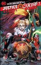 JUSTICE LEAGUE vs SUICIDE SQUAD 1 UNKNOWN TYLER KIRKHAM COLOR VARIANT