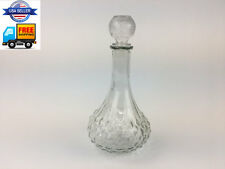 30 OZ Crystal Glass Wine Decanter with Glass Stopper